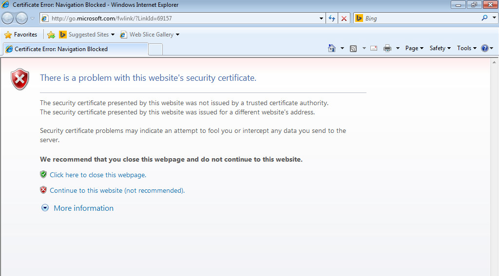 Certificate Issues With The Hotspot Artica Proxy