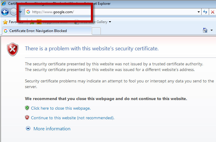 Certificate issues with the HotSpot – Artica Proxy