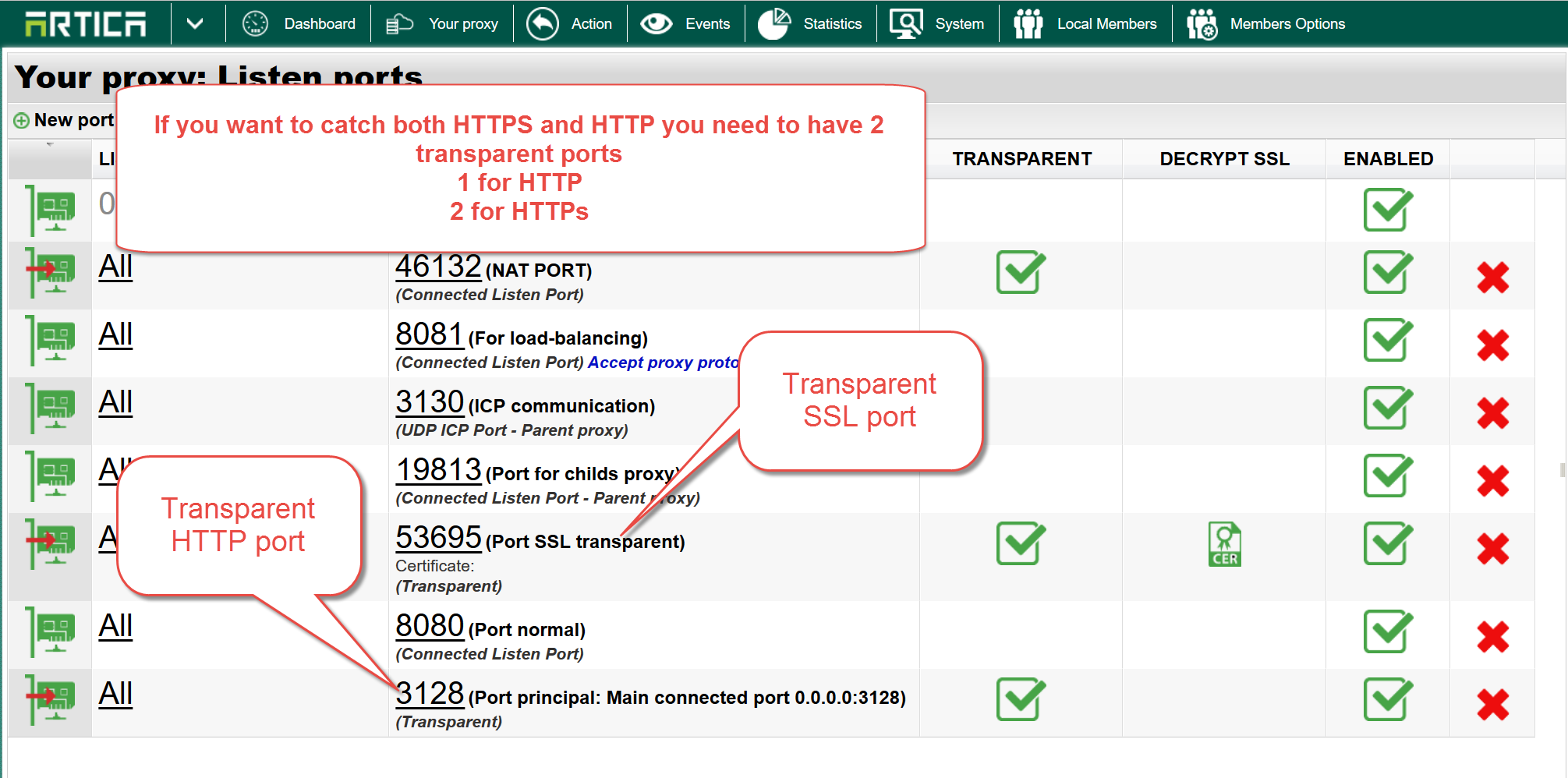 Transparent mode: HTTPs web sites are not blocked – Artica Proxy