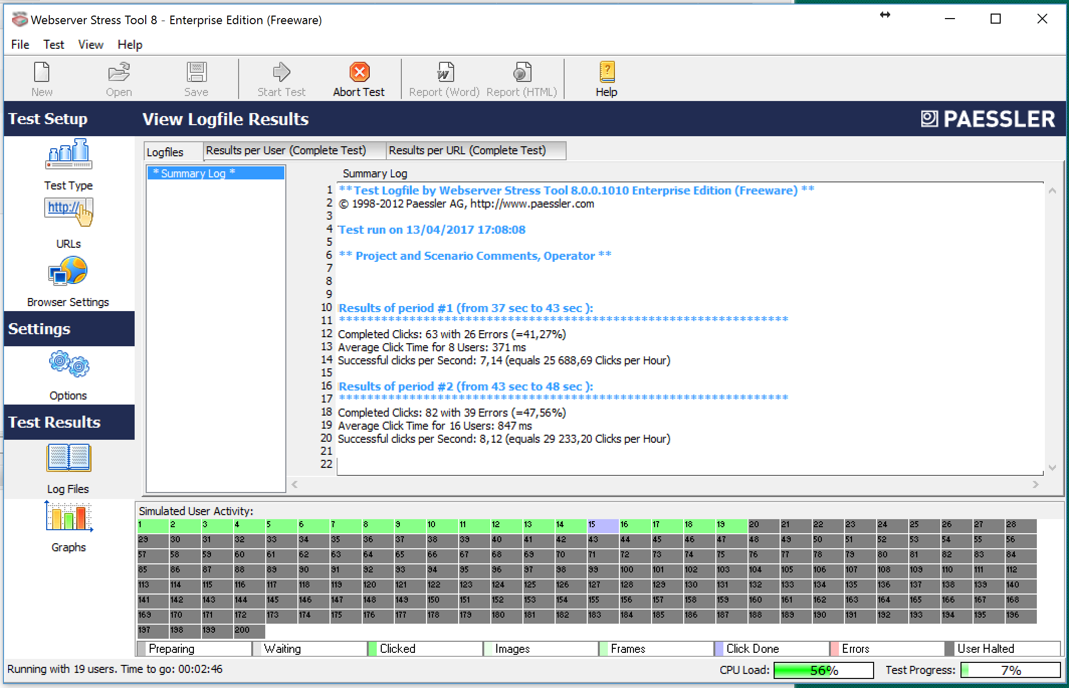 How to stress your Artica proxy server from a Windows Client